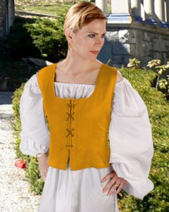 Reversible Catherine of Valois Bodice