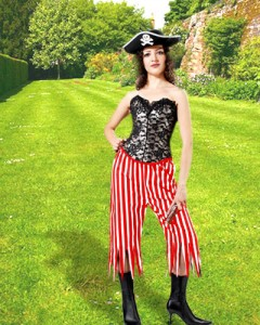 Frideswide Striped Pants