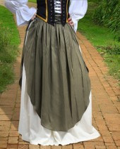 Ingrith Apron Skirt