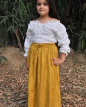 Girls Medieval Skirt